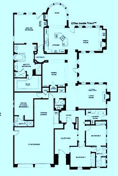1000 images about floor plans on pinterest floor plans for One story beach house plans