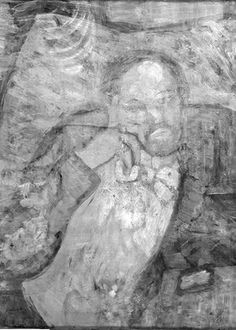 The mystery man discovered hidden under Picasso's The Blue Room.