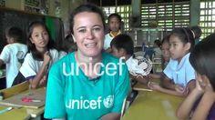 Un año después, gracias desde Filipinas. UNICEF España