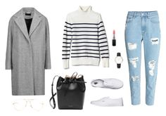 """Untitled #1307"" by alex-gucka ❤ liked on Polyvore featuring rag & bone, Banana Republic, Vans, Mansur Gavriel and MAC Cosmetics"