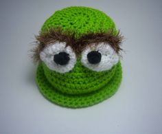 The coolest kid hat ever!  Every little grouch should have one!