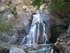 Harding Canyon Falls  N33 43.520 W117 35.140