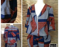 Sheila Jay Designs African Womens Jumpsuit by SheilaJayDesigns