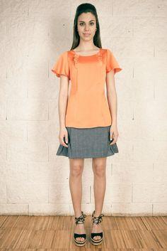 Colección SS15 OHIO GIRLS by La Böcöque. Prendas creadas con mucho mimo en nuestro taller. 100% Made in Spain