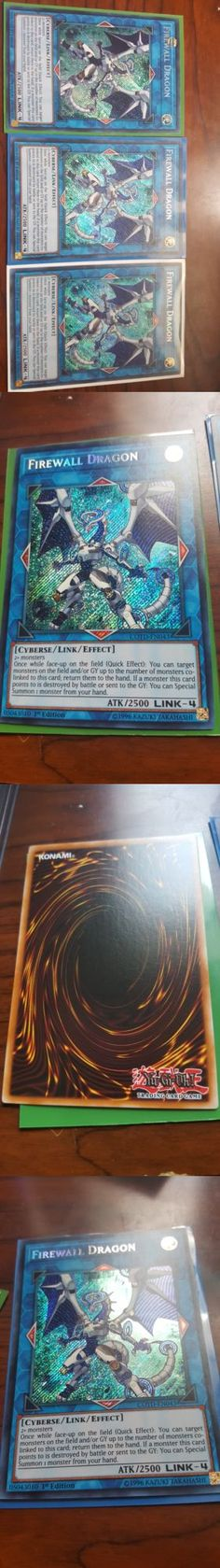 Yu-Gi-Oh Individual Cards 31395: Yugioh Cotd-En043 Firewall Dragon 1St Edition Secret Rare Card M Nm -> BUY IT NOW ONLY: $38.99 on eBay!