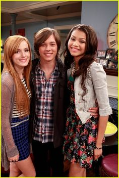 Leo Howard, Zendaya, Bella Thorne