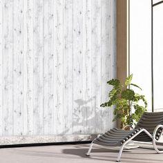 Vintage White Wood Panel Pattern Contact Paper Self-Adhesive Peel-stick Wallpaper Backsplash Panels, Removable Wallpaper, White Wood Paneling, Peel And Stick Wallpaper, Wood Wallpaper, Self Adhesive Wallpaper, White Paneling, Stick On Wood Wall, White Wood