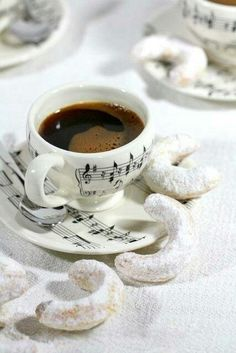 Coffee is music to my mornings...