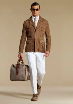 Hackett London Spring/Summer 2011 Look Book - Flawless Crowns Der Gentleman, Gentleman Style, English Clothes, Look Man, Safari Jacket, Mens Fashion Suits, Well Dressed Men, Vintage Outfits, Vintage Clothing