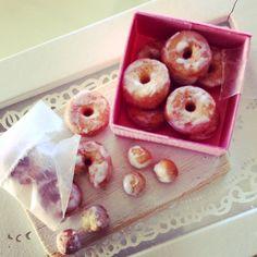 Dollhouse miniature glazed donuts by Kimsminibakery on Etsy