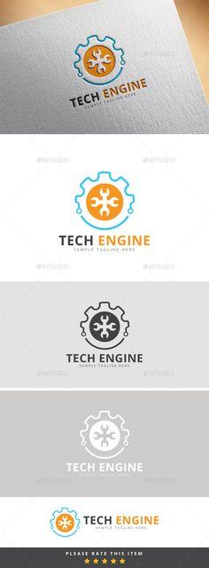 Tech Engine Logo