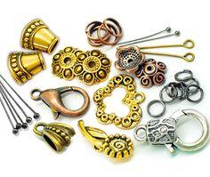 5fc946949c38 Фурнитура для украшений и бижутерии купить недорого, интернет магазин  товаров для рукоделия Beadhall