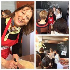 #journéesMarmiton l'atelier de #Marie en plein boulot avec @cecilepfgc Marie, Instagram, Atelier