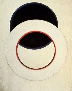 // Alexander Rodchenko, White Circle (1918)