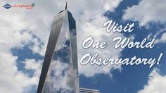 The One World Observatory is a great place to visit with the family especially for the amazing views! For more information on our Bus Tours plus One World Ob. Great Places, Places To Visit, Sight & Sound, City Streets, All Over The World, First World, New York City, Nyc, Tours