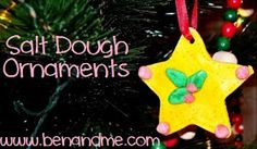Ben and Me: Salt Dough Ornaments {Preparing for the Holidays}