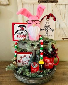 Christmas Wood, 1st Christmas, Christmas Signs, Christmas Wreaths, Christmas Crafts, Christmas Decorations, Christmas Kitchen, Christmas Story Party Ideas, A Christmas Story