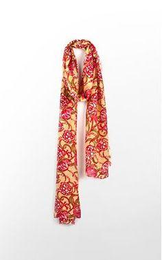 Lilly Pulitzer Chi Omega scarf - wonderful!