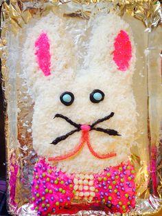 Easter bunny cake! :)