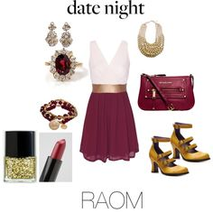 """date night raom"" by jennyliford on Polyvore"