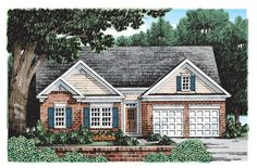 Eplans Cottage House Plan - Fine Quality - 1232 Square Feet and 3 Bedrooms from Eplans - House Plan Code HWEPL08014