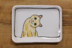 Hand made & animal painted Versatile dish by CreativeStoneCera