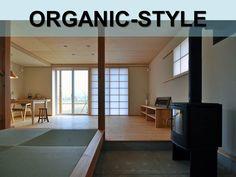 シンプルイズ最高の空間。LDKと玄関土間に設置された薪ストーブ。