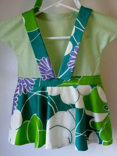 Tote Project or extra Storage Bag A Green by RightCornerCabinet