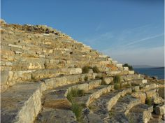 Visit Lavrio. This is the oldest theatre in #Greece...over 3,000 years old. It is called #Thoriko.