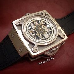 The Hublot Antikythera watch, a miniature of an ancient Greek astronomical clock unearthed from the seabed.