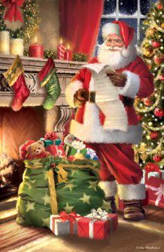 Merry Christmas Santa, Christmas Scenes, Christmas Clipart, Christmas Pictures, Vintage Christmas, Christmas Stockings, Christmas Cards, Christmas Decorations, Holiday Decor