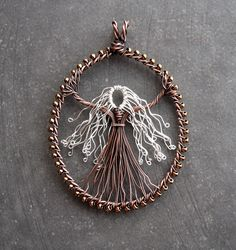 Silver-haired Goddess (commission) by Louise Goodchild, via Flickr (Wow! This is sooo cool!)