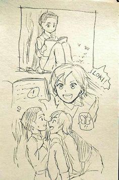 """Butterfly"" 1/4  [ThorKi Mini Manga]"