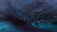 Fall of the Dragon by bayardwu.deviantart.com on @DeviantArt