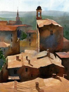 (168) tytus brzozowski akwarela|watercolor