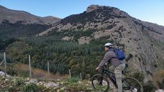 Durante le escursioni in mountain bike elettrica attraverso le nostre Madonie Vi aspetta una vista panoramica mozzafiato sulle meravigliose montagne.