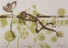 John Olsen - Swimming Frog