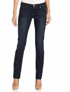 Hey Short Stuff! We Pick the Best Denim Styles for Petite Women: Petite Curvy: Straight Leg Jeans