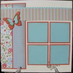 Stacy's Stampin' Spot: Two Page Everyday Elegance Scrapbook Layout