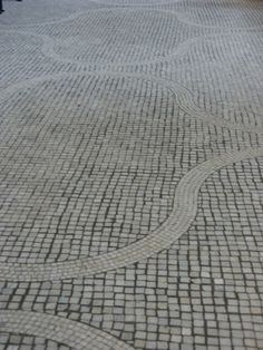 Paving at Skogskyrkogården by Sigurd Lewerentz