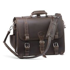 Saddleback Leather Classic Briefcase Large, Dark Coffee Brown Saddleback Leather Co.. $610.00