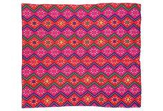 Bright   Tribal Marriage     Quilt on OneKingsLane.com