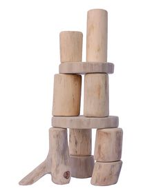 Look at this #zulilyfind! Baby Block Set by Tree Blocks #zulilyfinds