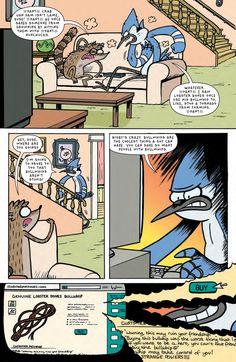 Preview: Regular Show #34, Story: Ulises Farinas & Erick Freitas Art: Laura Howell Covers: Mad Rupert & Pat Kinsella Publisher: BOOM! Studios/KaBOOM! Publication Dat...,  #All-Comic #All-ComicPreviews #Boom!Studios #Comics #ErickFreitas #kaboom! #LauraHowell #MadRupert #PatKinsella #previews #UlisesFarinas
