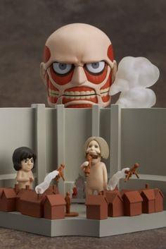 Attack on Titan Nendoroid Playset