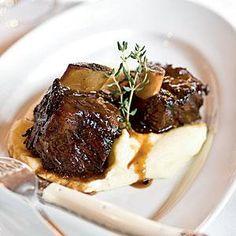 Cane Braised Beef Shortribs with Dijon Horseradish