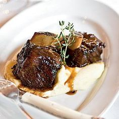 Cane Braised Beef Shortribs with Dijon Horseradish