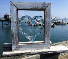 Best 11 How to make sea glass window art – Artofit – SkillOfKing. Sea Crafts, Sea Glass Crafts, Sea Glass Art, Stained Glass Art, Mosaic Glass, Seashell Art, Window Art, Coastal Art, Beach Art