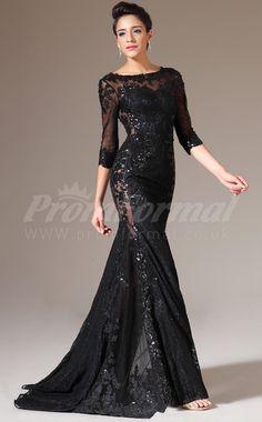 A Black Tie Affair Evening Dress | Hallowedding | Pinterest ...