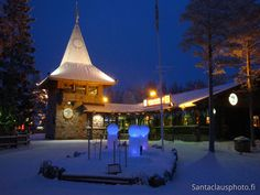 Santa Claus Main Post Office in Santa Claus Village in Rovaniemi